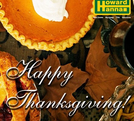 Happy Thanksgiving from Howard Hanna