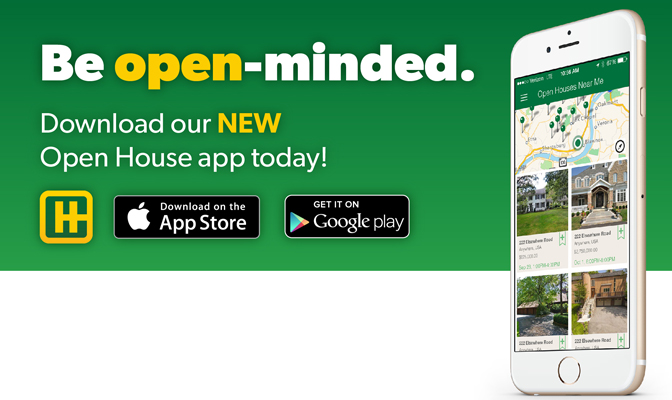 Howard Hanna Open House app
