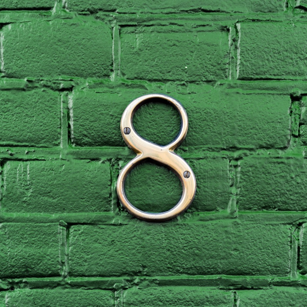 Consider getting creative with your home's address numbers. Several options exist for labeling your house in an aesthetically pleasing way, including numbers on stones in the front yard, painted above or next to the front door, and even featured on the mailbox. Whichever method you choose, make sure the numbers are legible and match the style of your home.