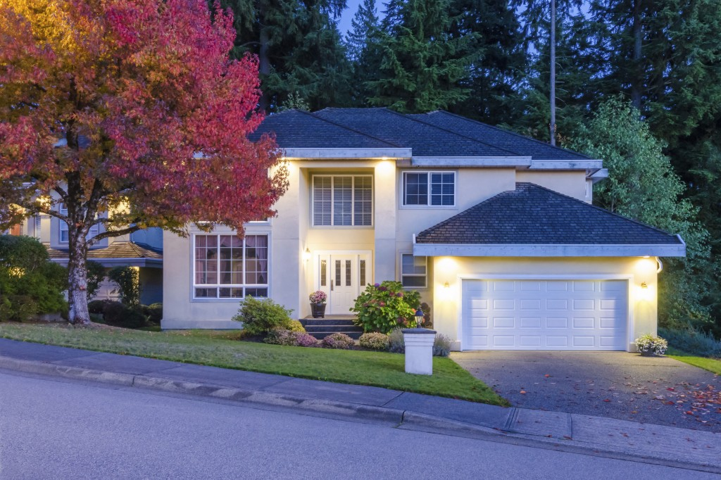 Curb appeal is not just a daytime thing; what your home looks like in the evening and at night is just as important! Choosing outdoor lighting that looks nice during the day and appropriately highlights the home's exterior when the sun goes down is crucial.