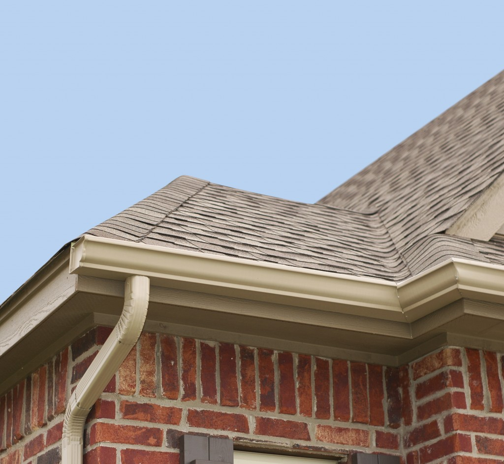 Rusting gutters and downspouts have a negative impact on your home's curb appeal. It is important to maintain rust-and-clutter-free gutters and downspouts, to make your home look nicer and to aid in the flow of rainwater.