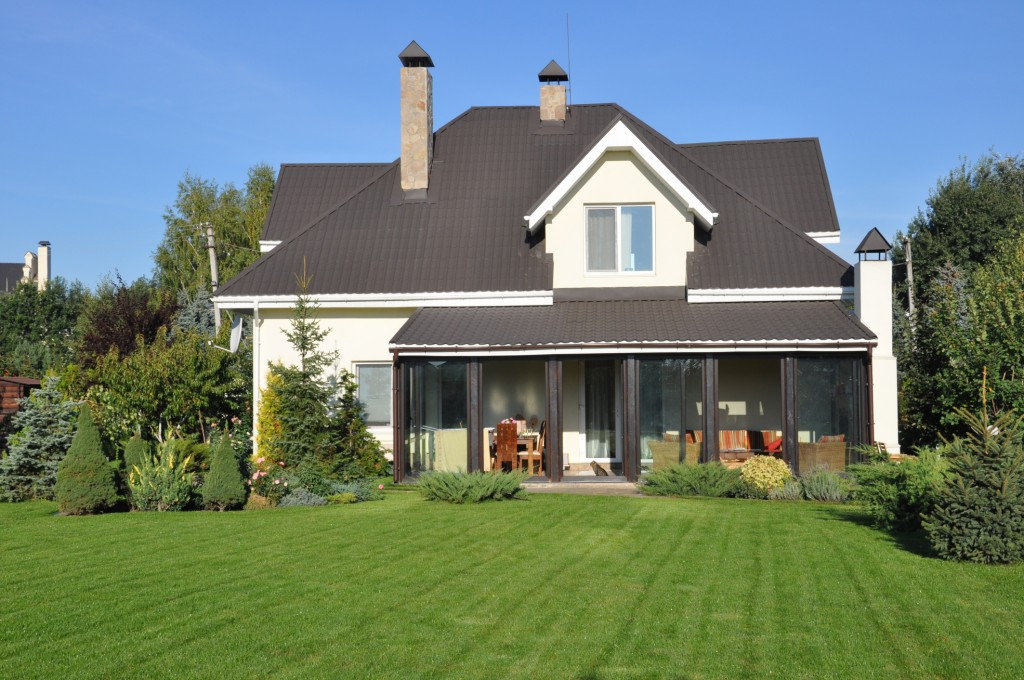 What is the point of all the work you've done to improve your home's curb appeal if no one can see it? Make sure your shrubbery is trimmed back and not overtaking the front of your house.