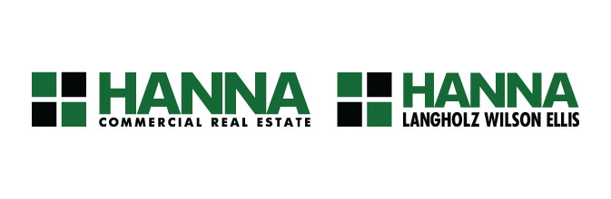 Hanna Commercial Real Estate & Hanna Lanholz Wilson Ellis logos