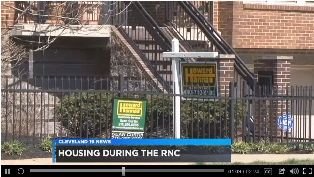 Cleveland 19 News covers RNC Rentals with Jared Zak   Howard Hanna Blog
