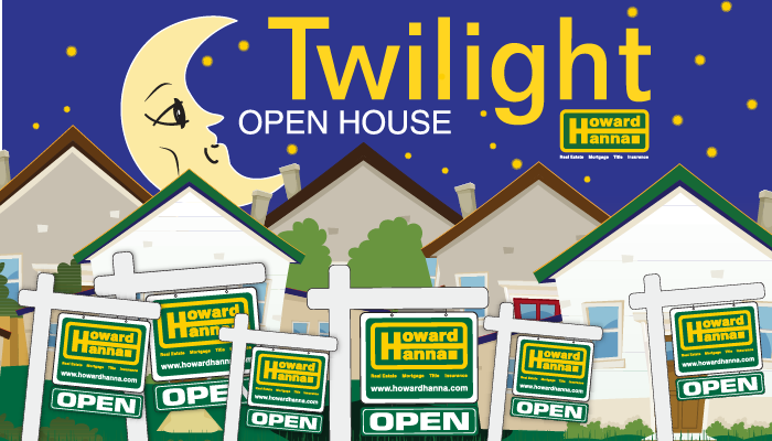 Special Howard Hanna Evening Open Houses Begin In May