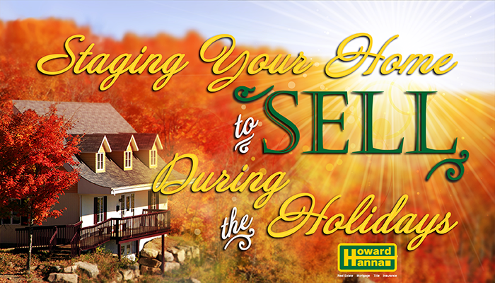 Sataging your Home for Sale during the Holidays