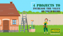 4 home projects to increase your home's value