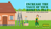 Increase the value of your home New Years resolution