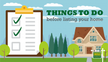 Things to do before listing your home