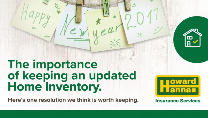 Importance of keeping an updated home inventory