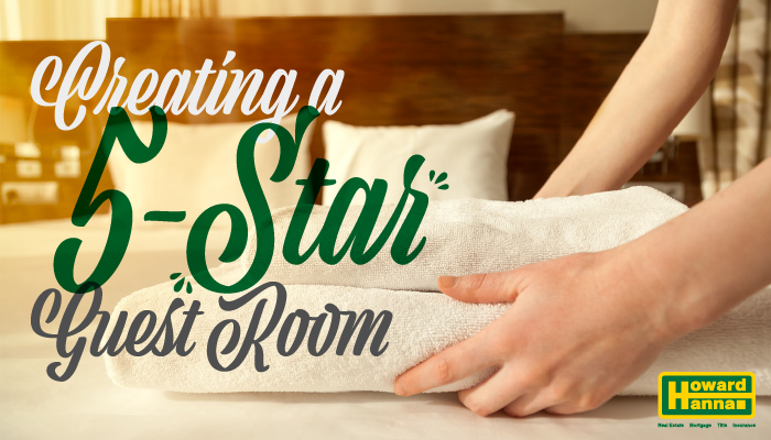 Creating a 5 star guest room
