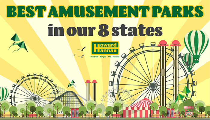 Best Amusement Parks in our 8 states