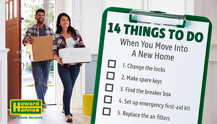 14 Things to doWhen you move into a new Home