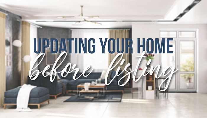 Updating your home before listing