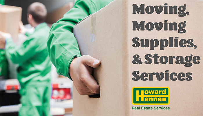 Moving, Moving Supplies, & Storage Service