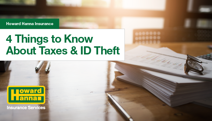 4 things to know about taxes and identity theft