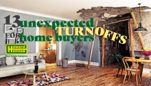 13 Unexpected Turnoffs for homebuyers