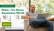 Relax It's Stress Awareness Month