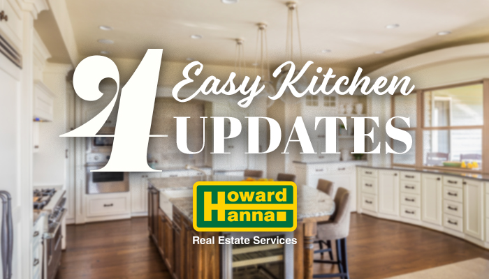 4 Easy Kitchen Updates