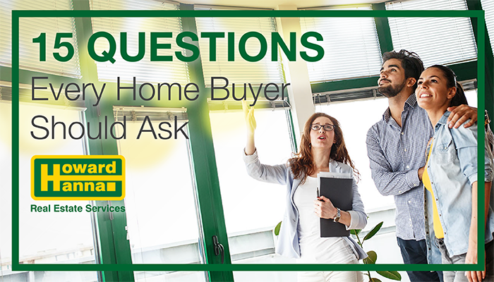 15 Questions every Home Buyer should ask