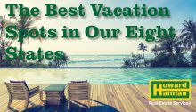 Best Vacation spots in our 8 states
