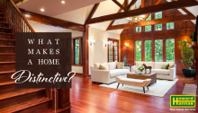 what makes a home distinctive