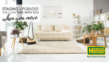 home staging upgrades you can take with you