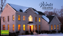 selling a home in winter - curb appeal