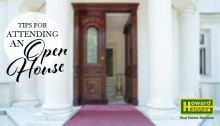 what to expect at an open house