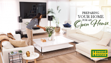 Preparing for an open house when selling your home