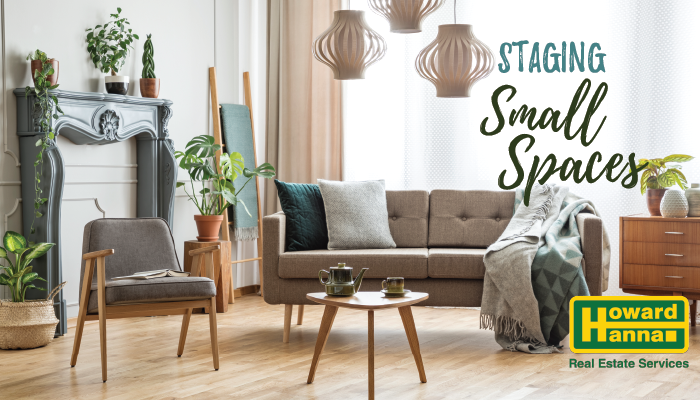 how to sell your home by staging small spaces