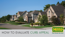 how to evaluate curb appeal when buying a home