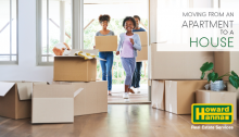 tips for moving from an apartment into a house