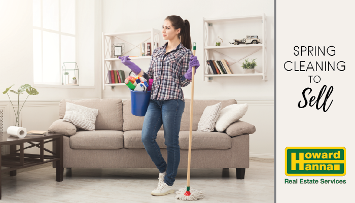 spring cleaning to sell your home