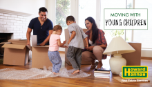 moving with a baby or toddler