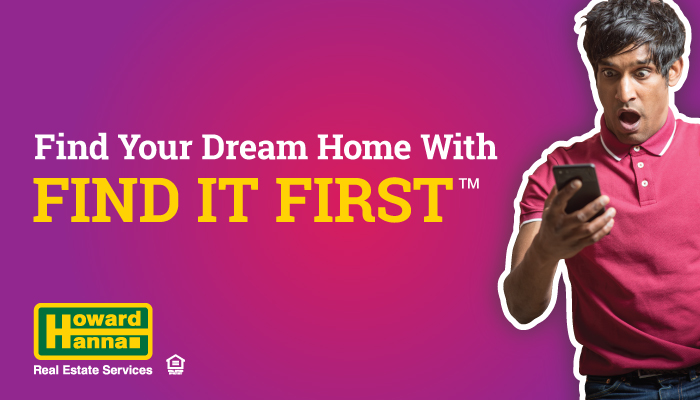 find it first - coming soon real estate