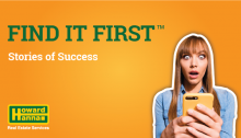 Find It First stories of success blog graphic
