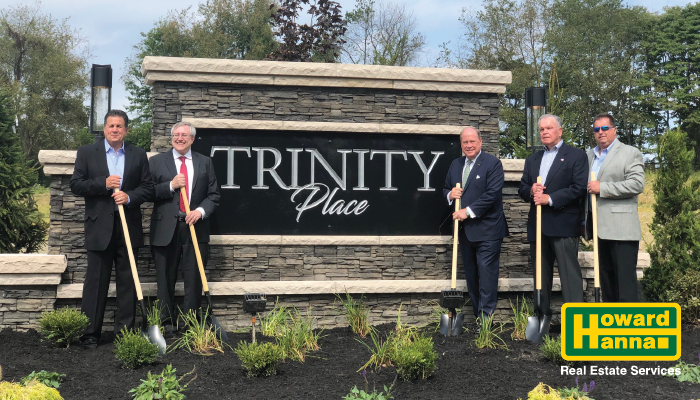 Groundbreaking Held For New Homes To Be Built In Pine Township Howard Hanna Blog