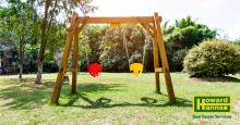 can you take a swingset when moving to a new home