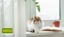 what to do with pets when selling your house