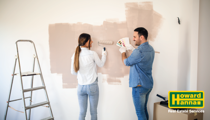 why paint when selling a home