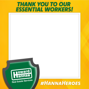 howard hanna heroes frame yellow