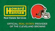 howard hanna is the official real estate provider of the cleveland browns